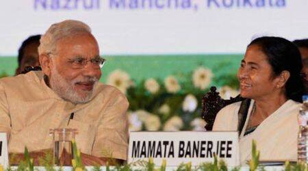 Prime Minister Narendra Modi, Narendra Modi, PM Modi, PM Narendra Modi, Mamata Banerjee, Prime Minister Narendra Modi, Modi Dhaka visit, Teesta water-sharing, mamata banerjee in dhaka, mamata banerjee teesta issue, mamata banerjee bangladesh visit, dhaka news, world news, kolkata news, indian express, nation news