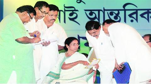 mamata banerjee, tmc counsillor meet, trinamool congress, trinamool congress counsillor meet, mukul roy, mukul roy absent, mamata banerjee mukul roy, tmc mukul roy, sharada scam, kolkata news, india news