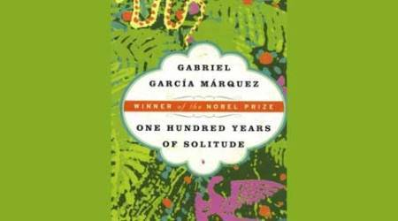 First edition copy of Marquez's One Hundred Years of Solitudestolen