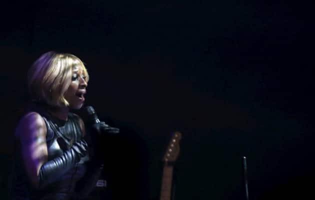 Mary J Blige, amfAR 2015