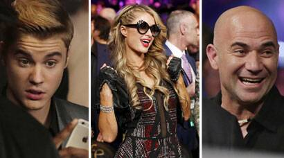#MayPac: Paris Hilton, Drew Barrymore, Justin Bieber in attendance for the richest bout ever