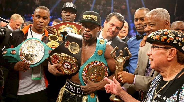 Floyd Mayweather vs Manny Pacquiao, Mayweather vs Pacquiao, Floyd Mayweather, Manny Pacquiao, George Foreman, boxing, sports, mayweather pacquiao bout, floyd vs manny, boxing news, indian express explained, explained indian express