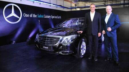 Mercedes-Benz S600 Guard India launch on 21st May