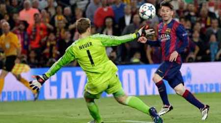 Lionel Messi shows Bayern Munich 'who is boss'