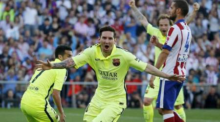 Barcelona, Lionel Messi, Messi, Spanish La Liga, Barcelona vs Atletico Madrid, Atletico vs Barcelona, Barca, Barcelona win title, La Liga, Football News, Football