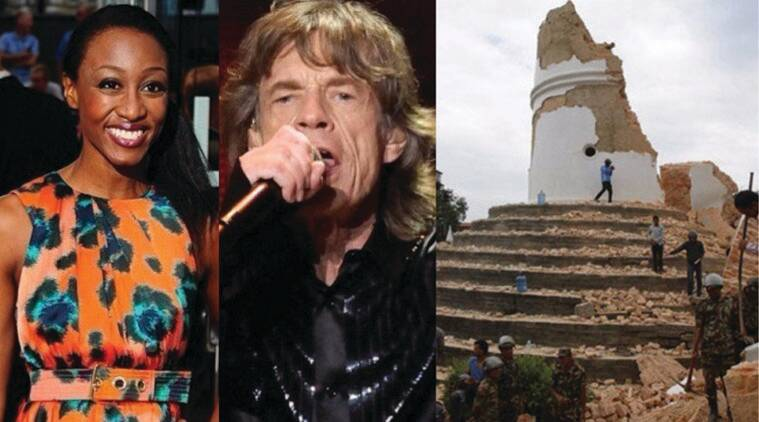 Mick Jagger, Beverley Knight, Nepal Earthquake, Ronnie Wood, Rolling Stones, Pink Floyd, nick Mason, itunes, Save the Childrens Nepal Earthquake, Nepal earthquake Single, Nepal Earthquake Victims, Nepal Earthquake Charity, Nepal earthquake Funds, Hollywood, Entertainment news