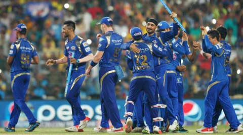 MI lift second IPL title after 41-run win over CSK in IPL 2015 final