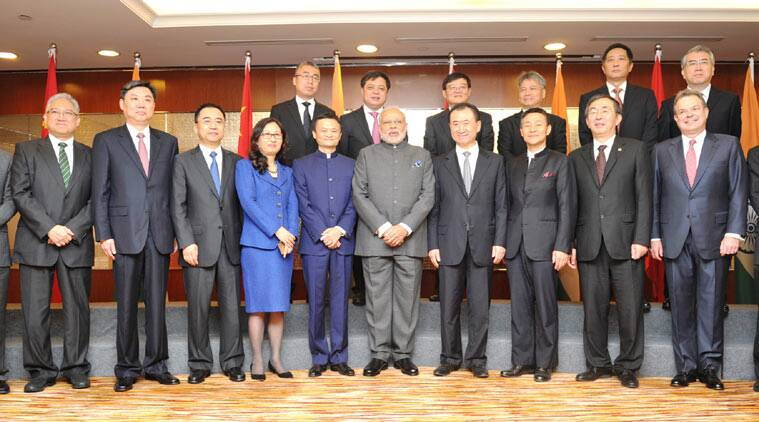 Narendra Modi, Modi in China, PM Modi, Chinese CEOs, Modi China CEO meet, Chinese inestors, India China deals, Modi China company meet, Modi China Business Forum, Modi news, India news, China news