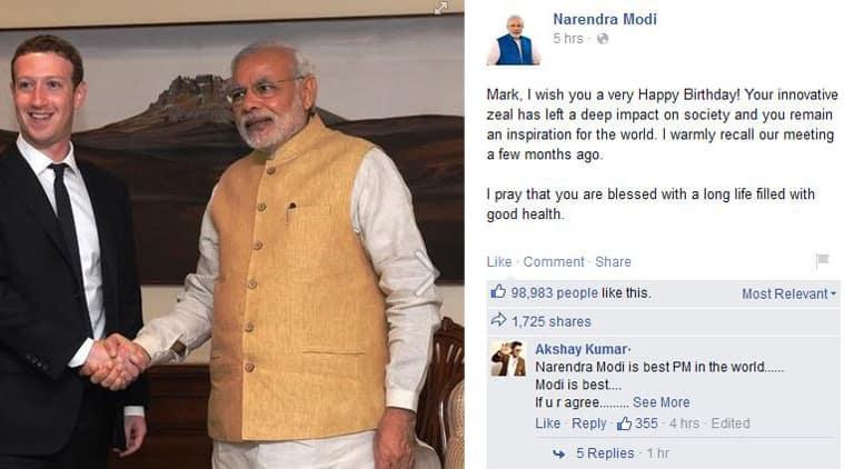 (Source: Narendra Modi Facebook page)