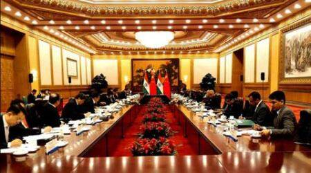 Modi in China, Narendra Modi, Modi china visit, PM Modi, Li Keqiang, chinese Premier Li Keqiang, Modi Li talks, Modi in Beijing, India news, Modi news, China news