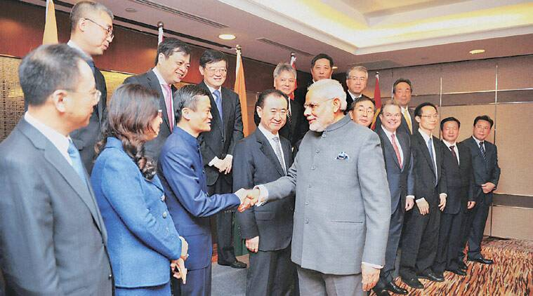 Narendra Modi, PM Modi China, Modi in china, India China deals, India China business, Chinese investors, Chinese CEOs meet, Modi Chinese Business forum, Indian chinese business pacts, India news, China news, bussiness news, China news, World news