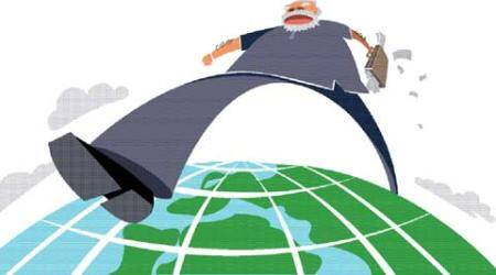 One Year of Modi govt: Bold moves on world stage