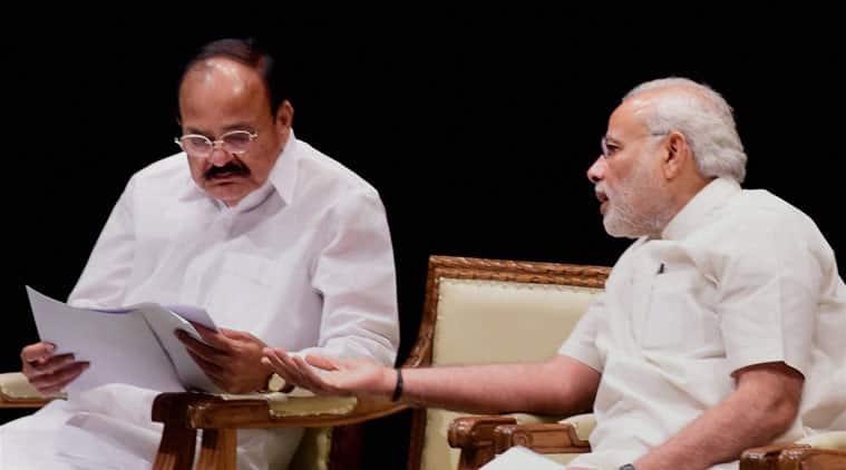 Narendra Modi,  BJP meet, BJP MPs, M Venkaiah Naidu, Bharat Singh, BJP Balia MP, BJP government, NDA government, Modi government, india news