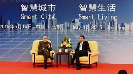 It's an all vegetarian fare for PM Narendra Modi in Shanghai