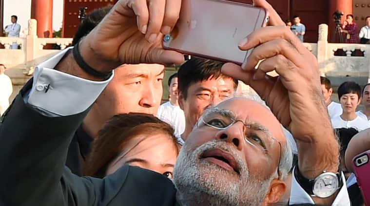 Narendra Modi, Modi selfie