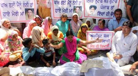 Moga bus molestation: As all parties flock to family of girl, Sukhbir takes his buses off theroad