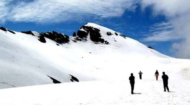 snowy mountain, mountain snow, hill stations, summer getaways