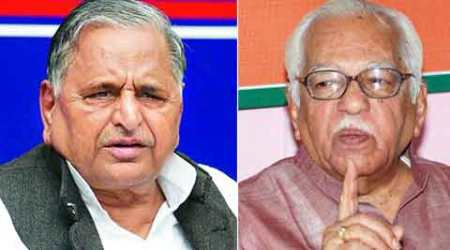 Mulayam meets Naik for a 'courtesy call', says MLC list not discussed