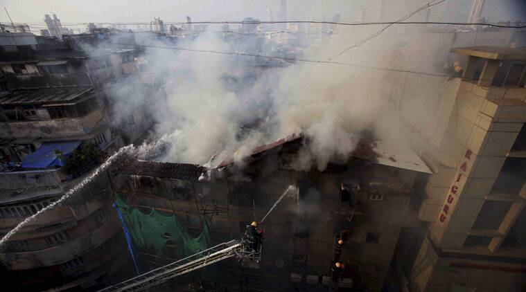 Mumbai building fire, mumbai Kalbadevi fire, Mumbai Fire Brigade, Mumbai news, maharashtra news, india news, nation news
