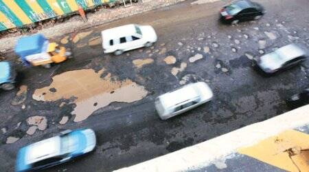 Panchkula, Panchkula potholes, Deputy Commissioner Vivek Atray, Pothole work chandigarh, chandigarh news