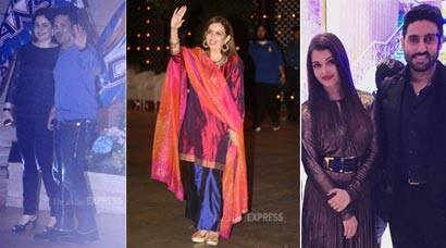 Inside Pics: Aishwarya, Sachin Tendulkar at Ambani's bash