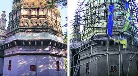 Restoration of Nageshwar temple to take at least another year, saysarchitect