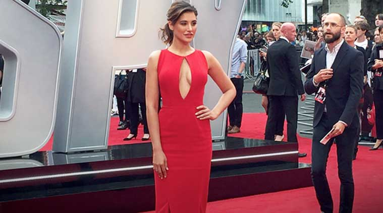 Nargis Fakhri Makes Heads Turn In Red At Spy S London Premiere Entertainment News The Indian Express