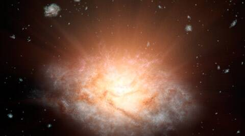 galaxy, most luminous galaxy, three trillion sun light, most luminous galaxy universe, most luminous galaxy discovered, NASA, NASA WISE, ELIRGs, NASA news, Astronomic news, world news, science news