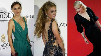 Natalie Portman, Paris Hilton, Cannes 2015