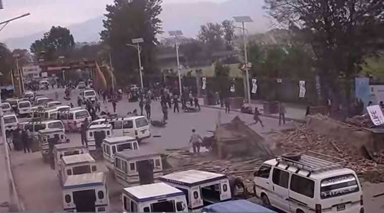 Real Nepal Earthquake Videos Nepal Video Nepal Earthquake