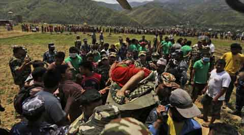 Nepal earthquake, Rescue teams