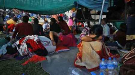 Nepalese in quandary over rebuilding houses ahead ofmonsoon