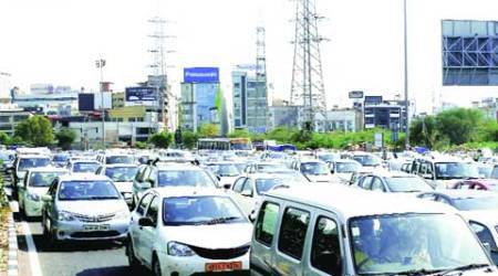 NH-8 gridlock, High court, NHAI, MCEPL, NH-8, delhi news, city news, local news, Indian Express