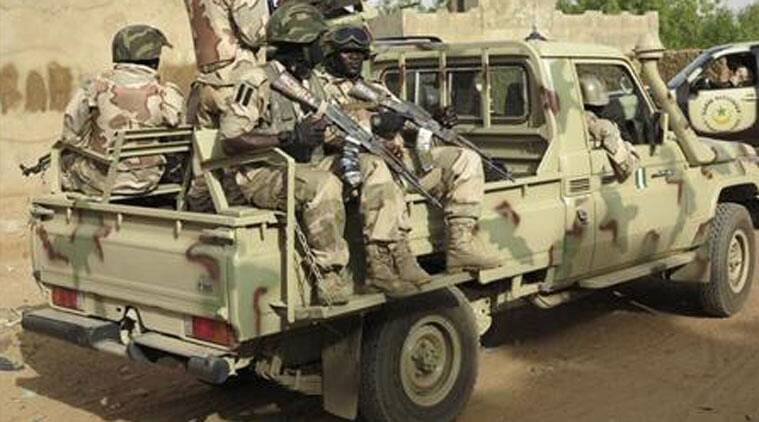 Residents said the soldiers arrived in more than a dozen armored personnel carriers.