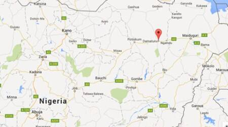 Teenage suicide bomber blows herself at Nigerian bus station, kills eight