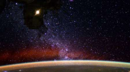 NASA astronaut shares stunning view of night sky from outer space