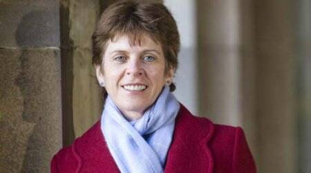 Professor Louise Richardson, Oxford University's first female vice-chancellor nominee.oxford, Female vice-chanceller, Louise Richardson, Andrew Hamilton, terrorism and security studies, international news, news, london news, indian express
