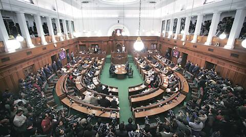 BJP, Delhi, O P Sharma, bjp news, op sharma delhi assembly, delhi assembly news, mla breaks mike, delhi news, india news, delhi assembly budget session