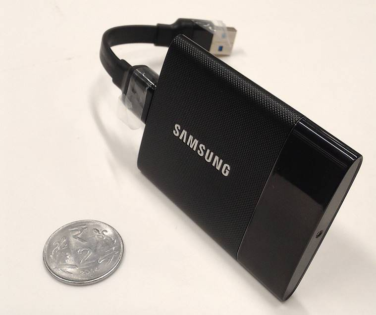 Samsung Portable SSD T1, Samsung Portable SSD T1 price, Samsung Portable SSD T1 features, smallest SSD, lightest SSD, best SSD, technology news