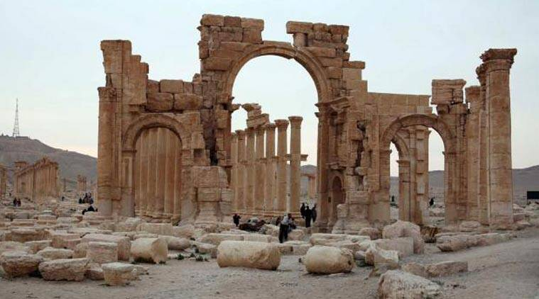 The ancient city of Palmyra in this file photo.