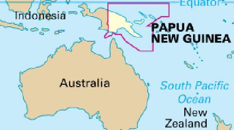 papa new guinea, earthquake papa new guiena