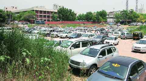 parking project, Mini-Secretariat, multi-level parking, Bhupinder Singh Hooda, Public Works Department, PWD parking project, Chandigarh news