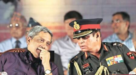 manohar parrikar, orop, orop fight