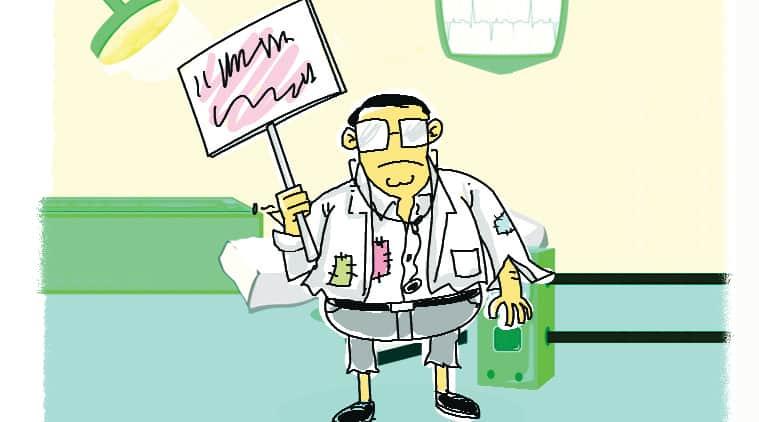 doctor assaulted, GMC, MARD, doctor strike, mumbai news, city news, local news, maharashtra news, Indian Express