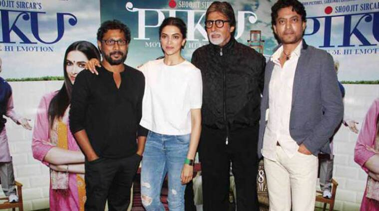 Piku, Deepika Padukone, Amitabh Bachchan, Irrfan Khan, Shoojit Sircar, Deepika Amitabh, Deepika Irrfan, Amitabh Irrfan, Deepika Big b, Big b Irrfan, piku, Deepika Amitabh Irrfan, Piku cast, piku Movie, Piku Trailer, Deepika Amitabh Irrfan Piku, bollywood, entertainment news