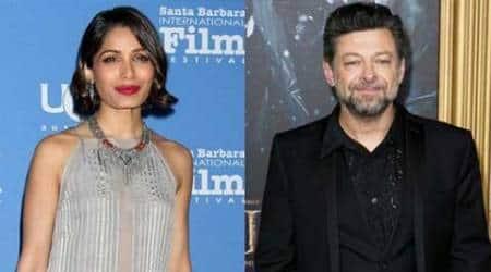 Freida Pinto reunites with Andy Serkis for Jungle Book:Origins