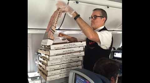 Delta pizza part, delta airlines, #deltapizzaparty, unites states of america, US delta pizza party, delta airlines pilot pizza party, delta atlanta flight, international news, news