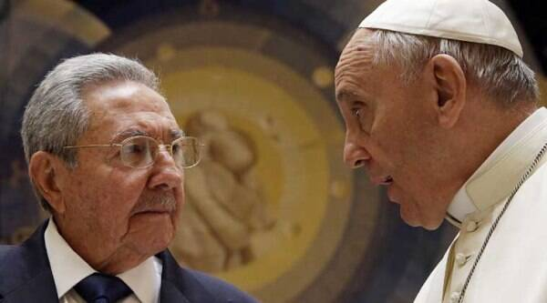 raul castro, pope francis,  pope francis raul castro video, castro pope, pope francis castro, pope francis raul castro, vatican city, castro in vatican, vatican castro, castro catholic church, castro to turn catholic, Cuba news, castro news, pope francis news, pope news, vatican news, catican city news,