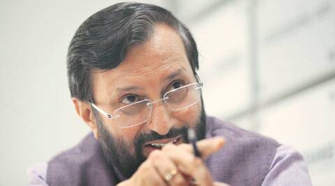 prakash javadekar, prakash javadekar interview, idea exchange, prakash javadekar idea exchange, pollution, delhi pollution, india pollution, prakash javadekar pollution, rahul gandhi, rss, narendra modi, congress, bjp, india news, indian express