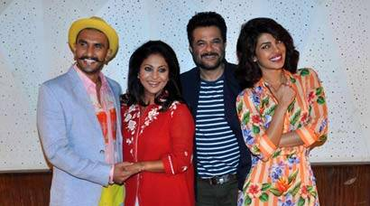 Dil Dhadakne Do's Mehras – Ranveer Singh, Priyanka Chopra, Anil Kapoor meet the press